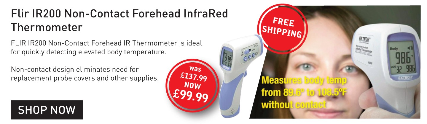 FLIR Infrared Non Contact Forehead Thermometer Reduced Price Free Delivery