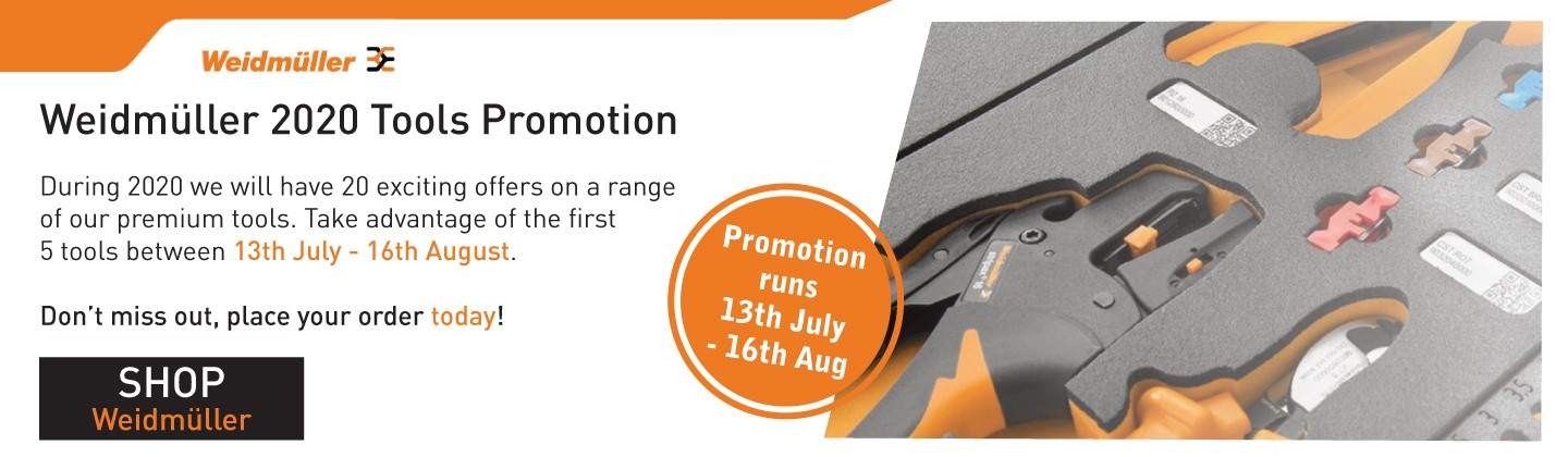 Weidmuller 2020 Tools Promotion July-August