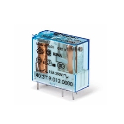 Finder 24V 10A 1 Pole Changeover Relay 40.31.7.024.0000