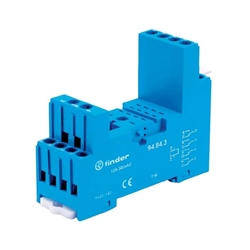 Finder Terminal DIN Socket Blue 94.84.3SMA