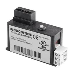Socomec 4825 0082 Diris Communication Module Jbus/Modbus