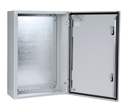Eldon 1000x800x260 Single Door Wall Mount Enclosure no Back Plate.