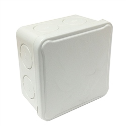 IDE EX088 Plastic Breakout Junction Box 80 x 80 x 50