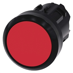 Siemens 22mm Pushbutton Red Plastic 3SU1000-0AB20-0AA0
