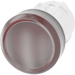 Siemens 22mm Pushbutton Red Plastic Indicator 3SU1001-6AA20-0AA0