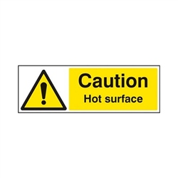Klauke Caution Hot Warning Label