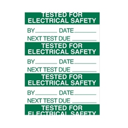 Klauke Tested For Electrical Safety Label