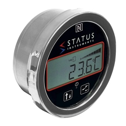 Status Instruments DM670/TM/K Battery Powered Thermometer Side Entries - Panel Mount