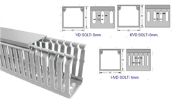 KSS 4mm Slotted Wiring Duct 40 x 40mm