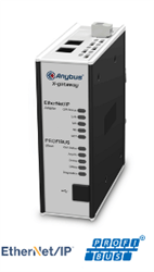 HMS Anybus X-gateway - PROFIBUS Slave - EtherNet/IP Adapter