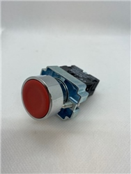 ETEK PUSHBUTTON RED COMPLETE WITH NC CONTACT