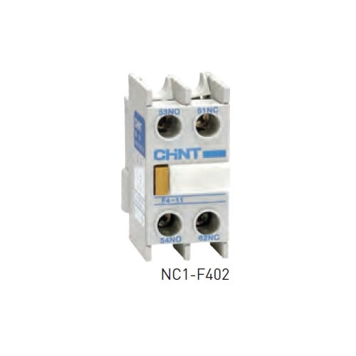 Chint NC1-F431 Head Mount Auxiliary Contact Block 1 NC 3 NO