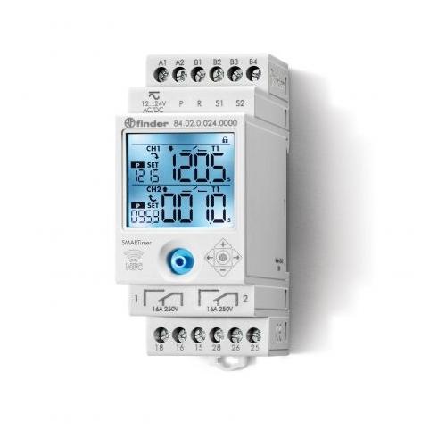 Finder 84.02.0.024.0000 24V AC/DC Smart Digital Timer