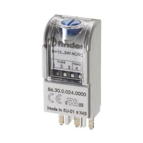 Finder 86.30.8.120.0000 120V AC Multifunction Timer Module