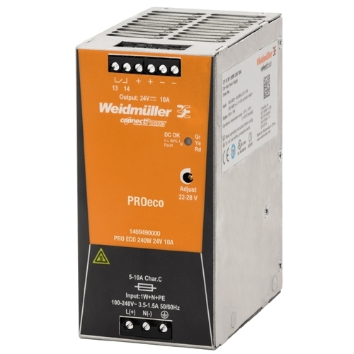 Weidmuller 1469490000 PRO ECO 240W 24V 10A