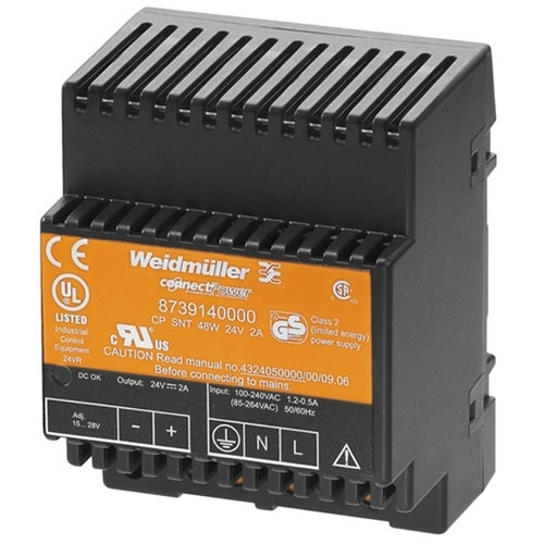 Weidmuller 8739140000 CP SNT 48W 24V 2A
