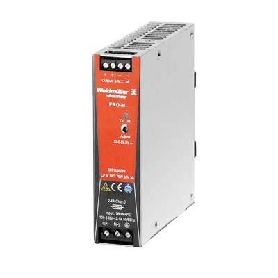 Weidmuller 8951330000 CP M SNT 70W 24V 3A