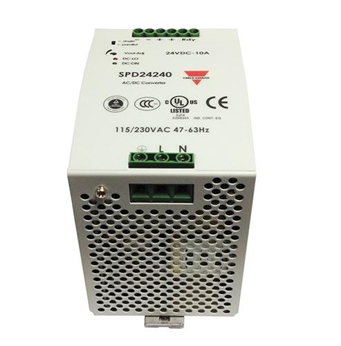 Carlo Gavazzi SPD242401 24VDC 10A 90/265VAC PSU PFC
