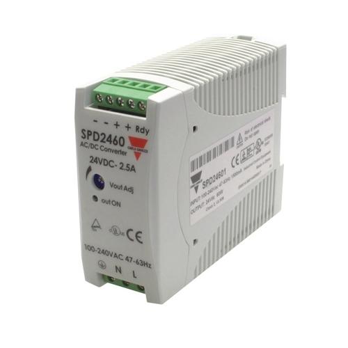 Carlo Gavazzi SPD24601 24VDC 2.5A 90/265VAC PSU