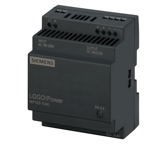 Siemens 6EP1332-1SH52 LOGO! POWER 4A 24VDC Power Supply