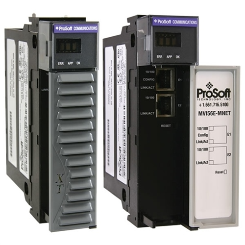 Prosoft MVI56E-MNETC Modbus TCP/IP Enhanced Communication Module - Client/Server