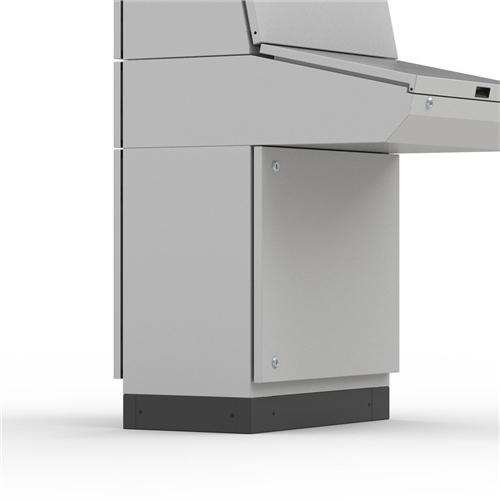 Eldon PST1040 Plinth Side Panel 100mm x 400mm
