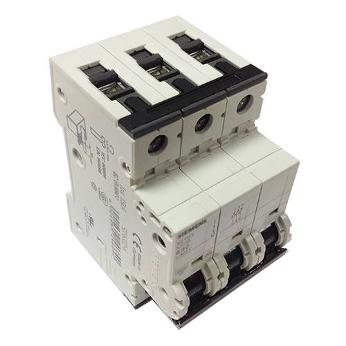 Siemens 5SY6340-7 40A 3 Pole Type C 400V 6KA MCB