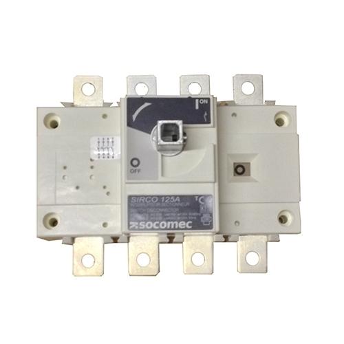 Socomec 125A 4 Pole Isolator