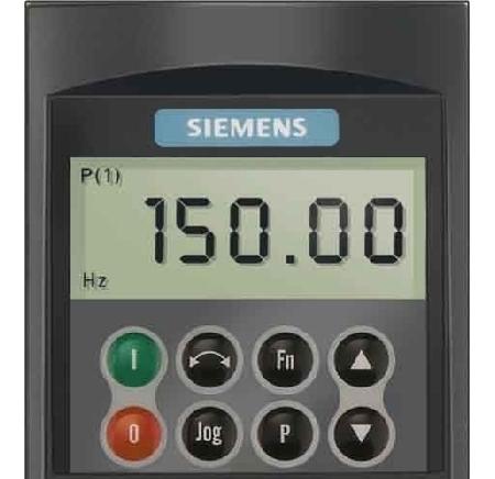 Siemens 6SE6400-0BP00-0AA1 Micromaster 4 Basic Operator Panel (BOP)