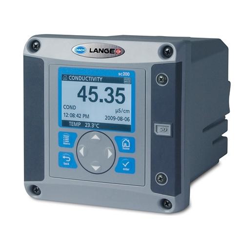 Hach Lange LXV404.99.00551 SC 200 Digital 2-channel Controller, 2x digital, 2x mA OUT
