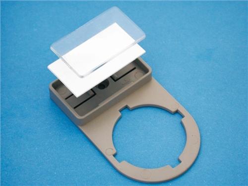 Cembre PTPSA-22 34602 Black PVC Adhesive Push Button Base