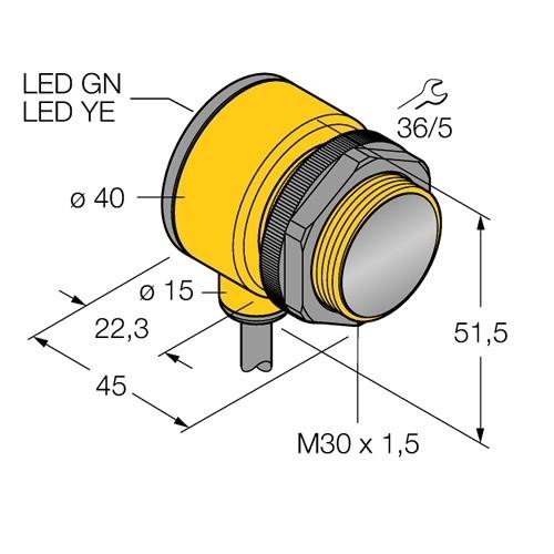 T30SP6FF400 Photoelectric Sensor