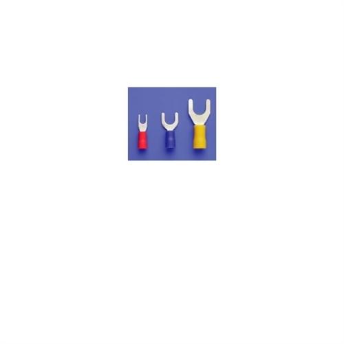 Partex Spade Fork Terminal Blue 4mm