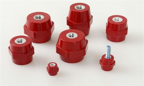 PES Steel stand off insulator 30mm x 30mm x M10 PSS303010  - Click to view a larger image