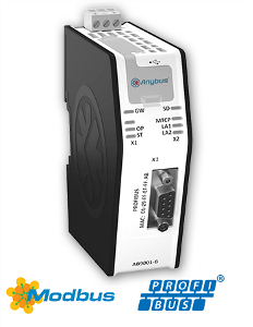HMS AB9001 Anybus X-gateway Ethernet Modbus - TCP PROFIBUS DP-V1