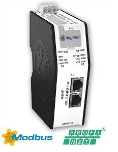HMS AB9007 Anybus X-gateway Ethernet Modbus-TCP Master PROFINET IO