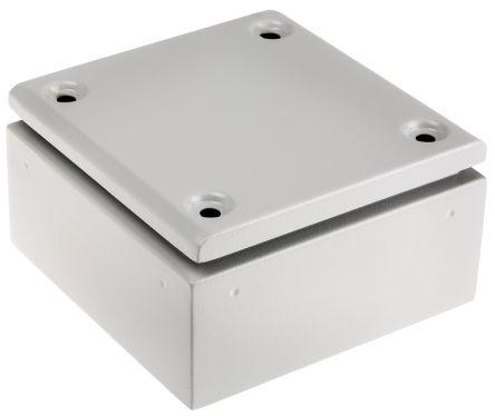 ETEK STEEL TERMINAL BOX 150X150X80 IP66 RAL7035