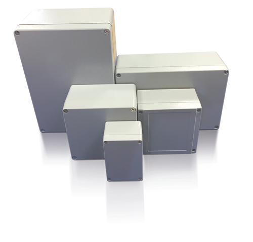 ETEK CAST ALUMINIUM JUNCTION BOX 160X160X90  - Click to view a larger image