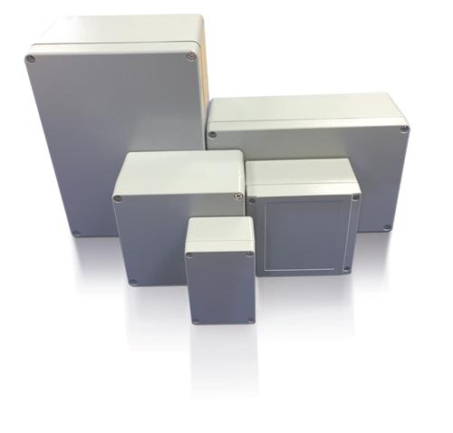 ETEK CAST ALUMINIUM JUNCTION BOX 300X210X130  - Click to view a larger image